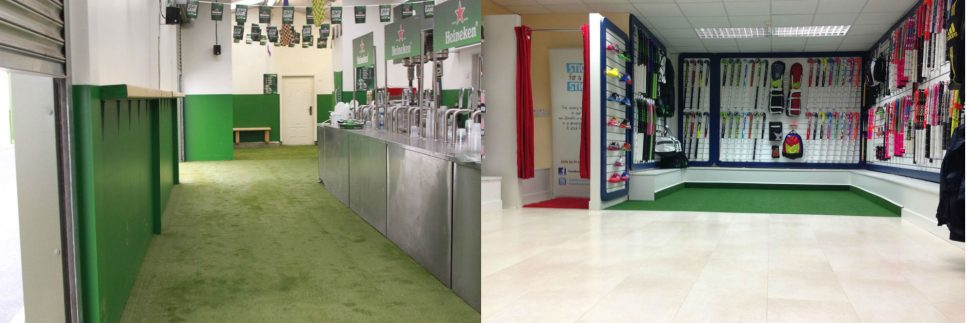 PST Lawns artificial grass for corporate use