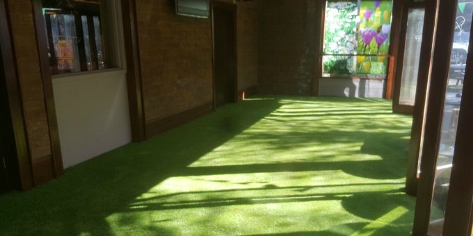artificial grass for commercial spaces