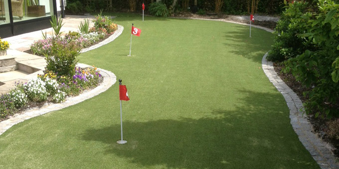 home putting green artificial grass