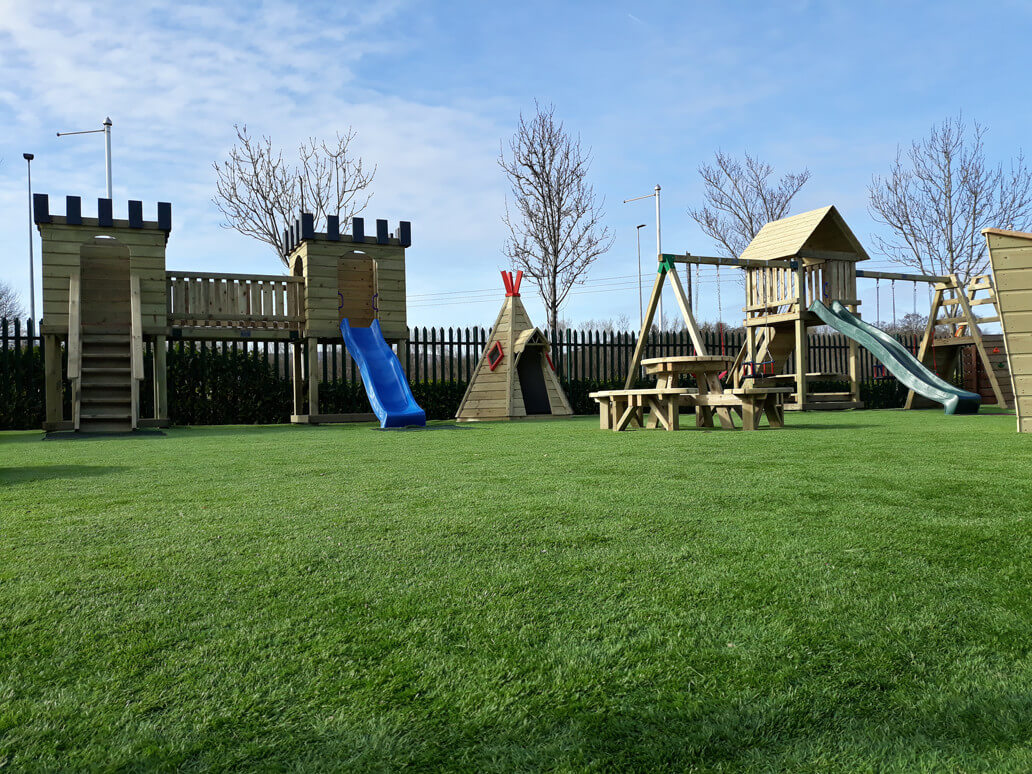 ballyseedy garden centre artificial grass play area