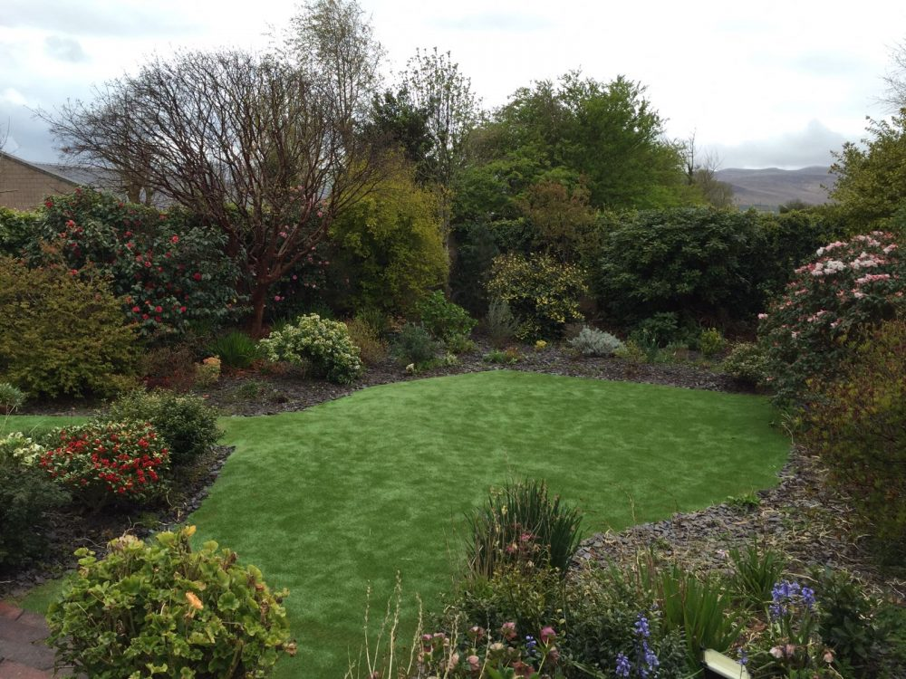Artificial Grass Garden In Tralee, Co Kerry