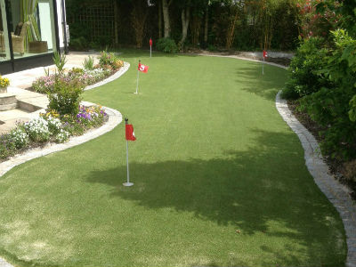 PST Lawns artificial grass for putting greens - artificial putting turf