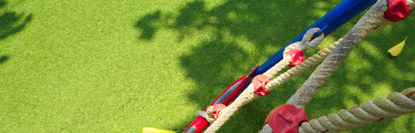PST Lawns artificial grass for kids play area