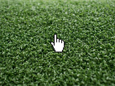 TEE Green artificial grass for putting greens