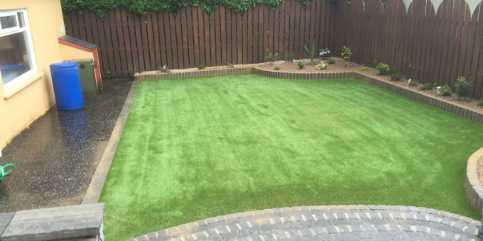 Artificial Grass Garden in Belfast