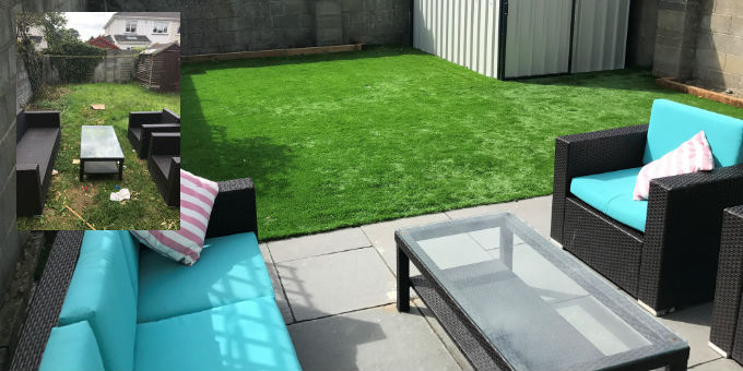 artificial grass for gardens