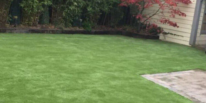 Artificial lawn in Co Louth