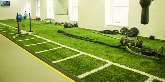 Artificial Grass for Functional Training Zone