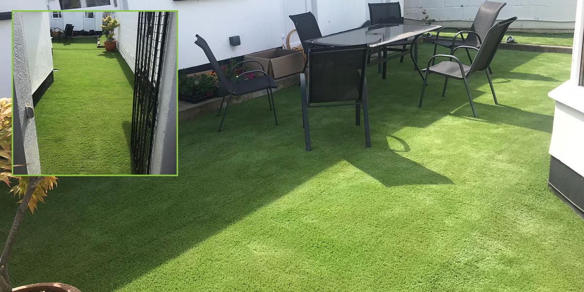 artificial grass garden in dublin 20