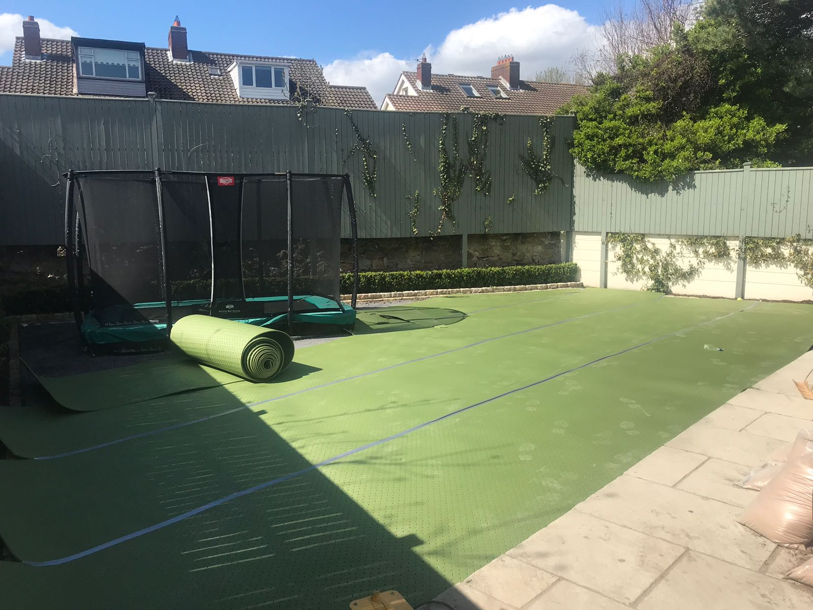 shock pad underlay for artificial grass