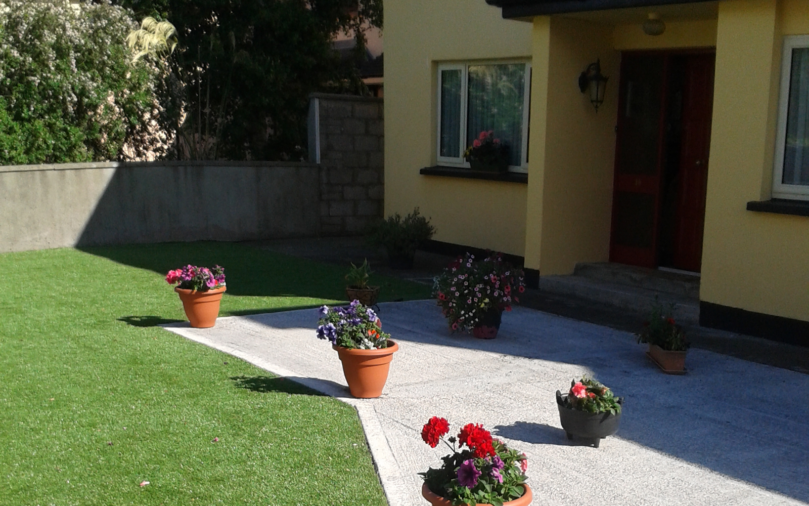 artificial turf lawn Tralee