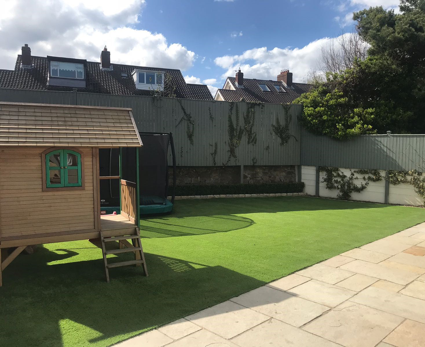 sandymount artificial grass garden