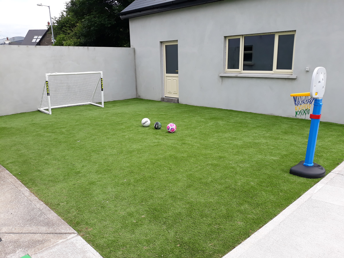 artificial grass - tralee garden