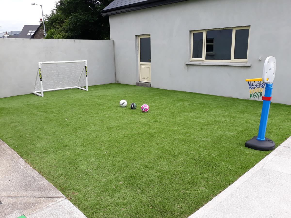 artificial grass - tralee garden