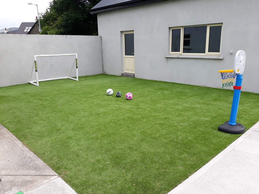 KD artificial grass garden Tralee
