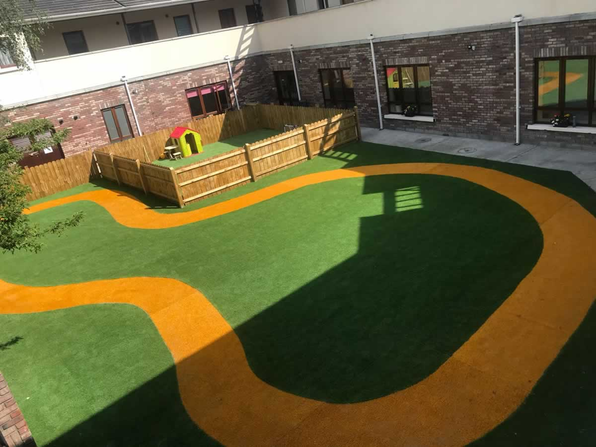 artificial grass for creches and preschools