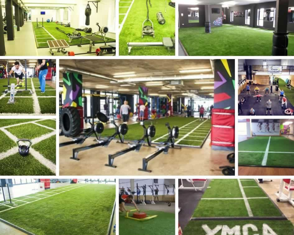 artificial grass for gyms