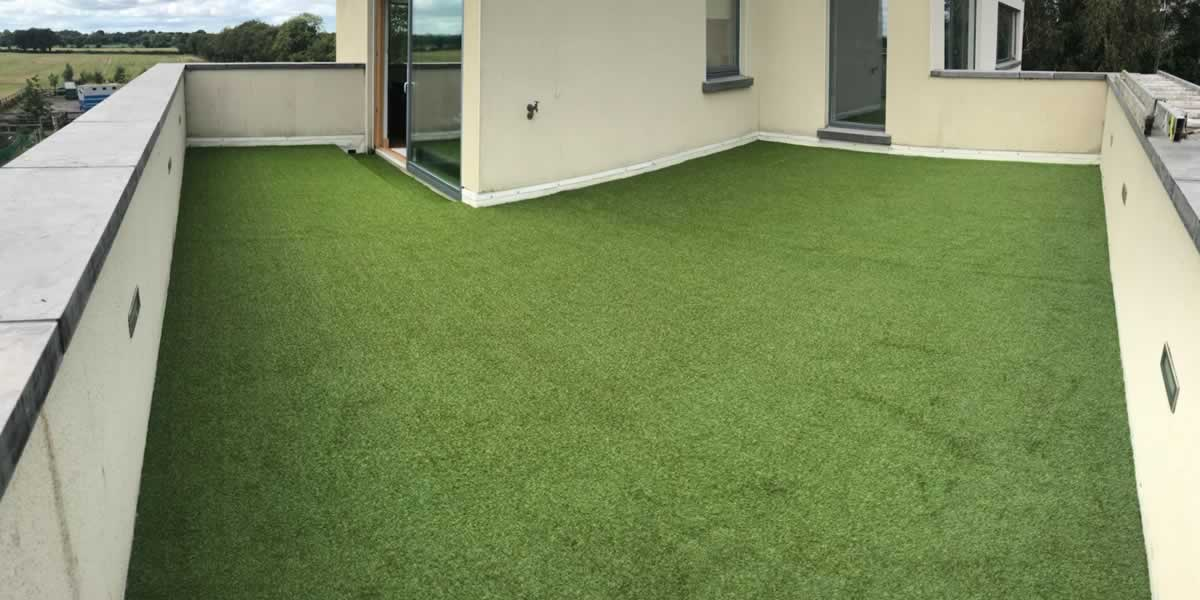 artificial grass for rooftop garden