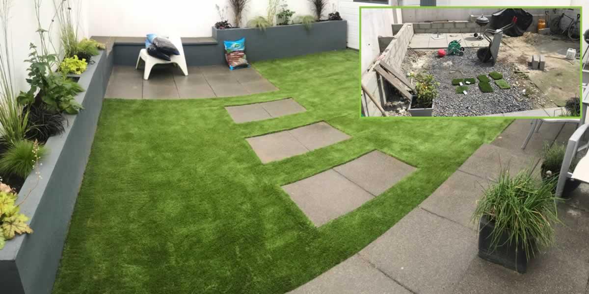 artificial grass garden Dublin 13