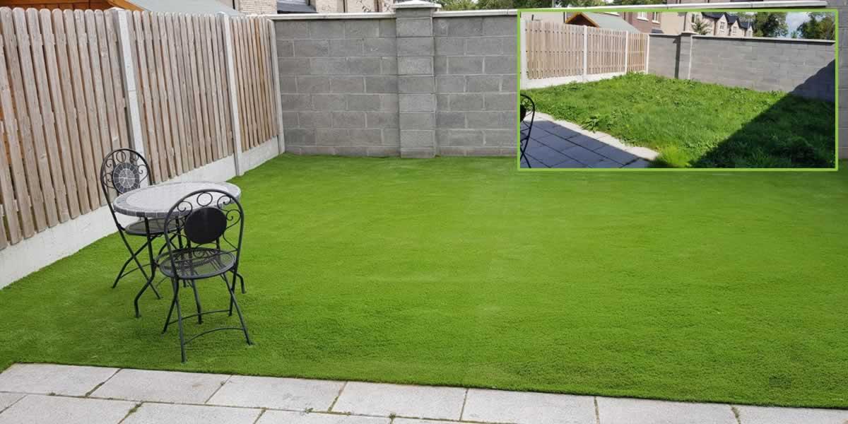 artificial grass installation Dunshaughlin