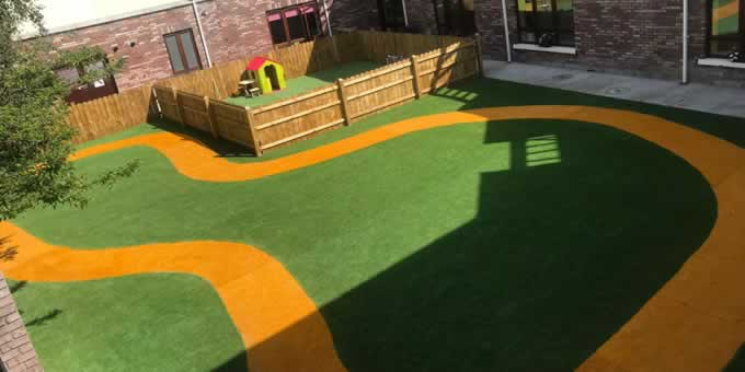 artificial grass for creches & preschools