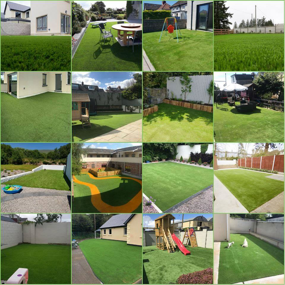 artificial grass installation projects