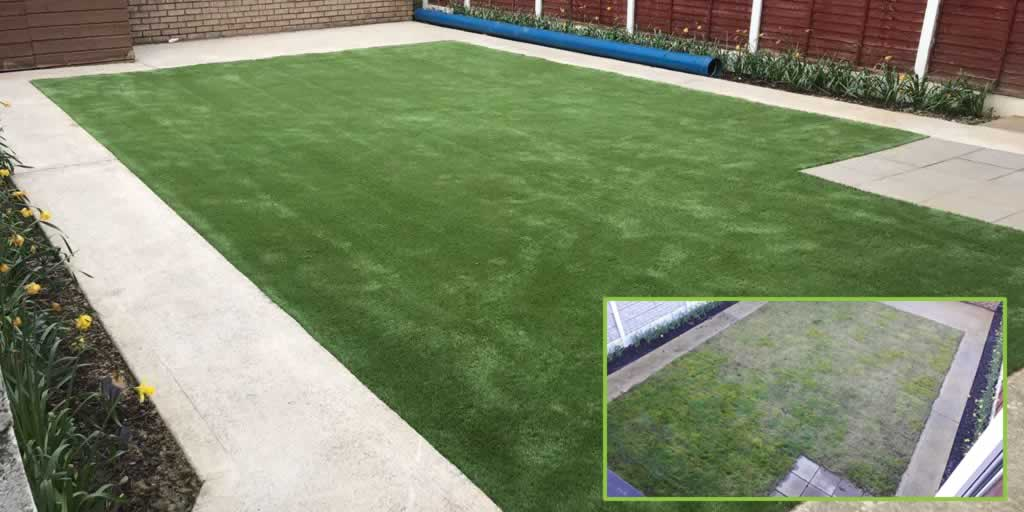 artificial grass lawn Limerick