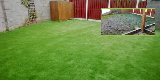 artificial grass kildare garden