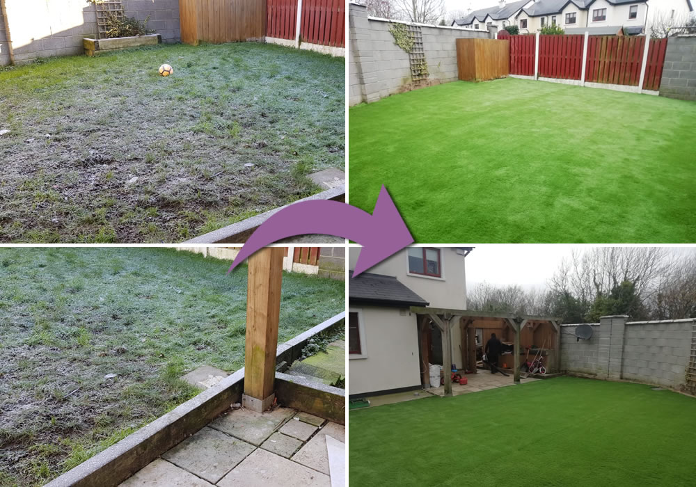 artificial grass kildare garden