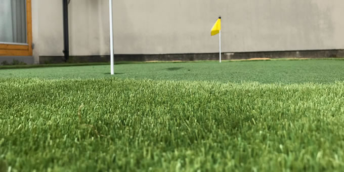 Artificial grass installation project in Mount Merrion, Co. Dublin