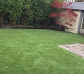 Artificial grass garden in Co Louth