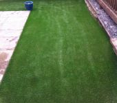 PST Lawns artificial grass for gardens - fake grass installation