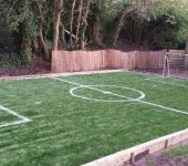 PST Lawns home football pitch - artificial grass