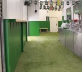 Fake grass at Connacht Rugby Club - artificial grass by PST Lawns