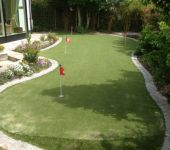 PST Lawns artificial grass putting green