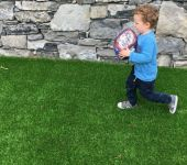 artificial grass safe for kids